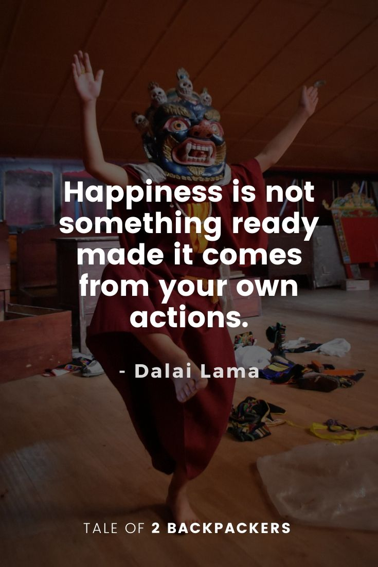 Dalai Lama Quotes on Happiness