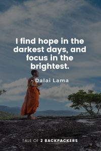 Dalai Lama Quotes on Hope