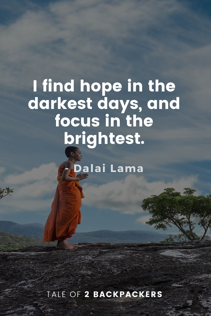 Dalai Lama Quotes on Hope