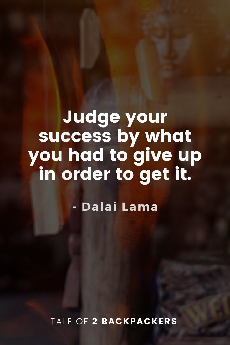 Dalai Lama Quotes on Success