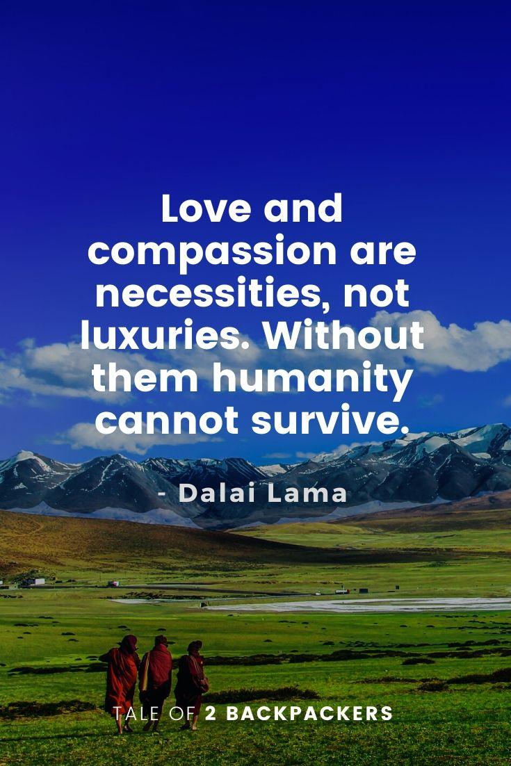 Dalai Lama Quotes on Love