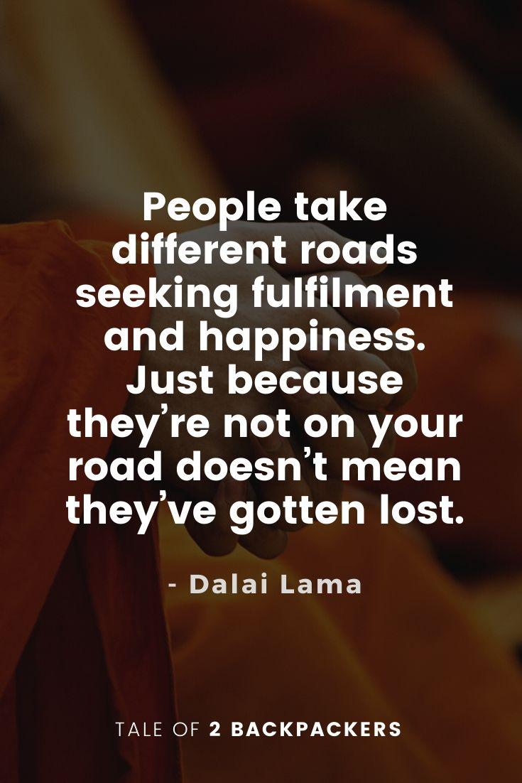 Dalai Lama Quotes on Fulfillment