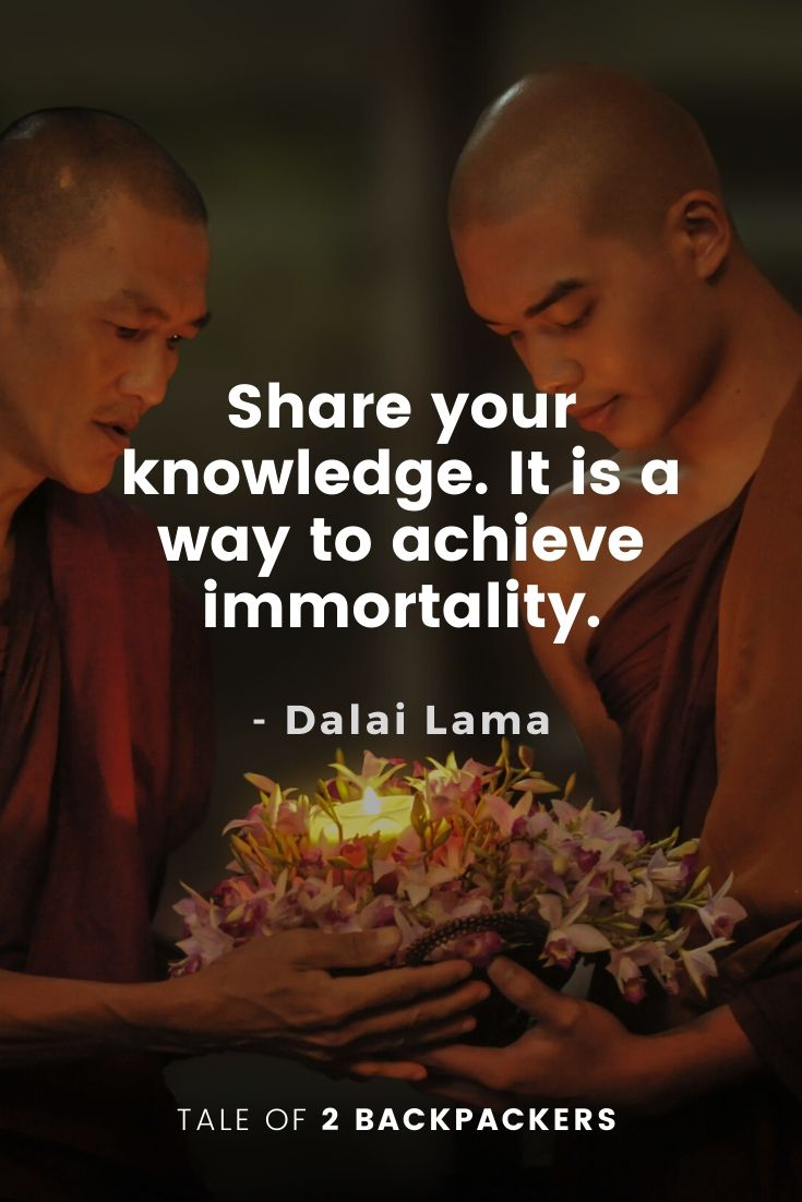 25 Most Inspirational Dalai Lama Quotes On Travel Life
