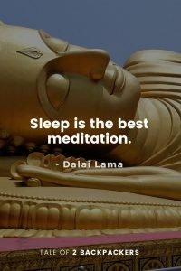 Dalai Lama Quotes on meditation