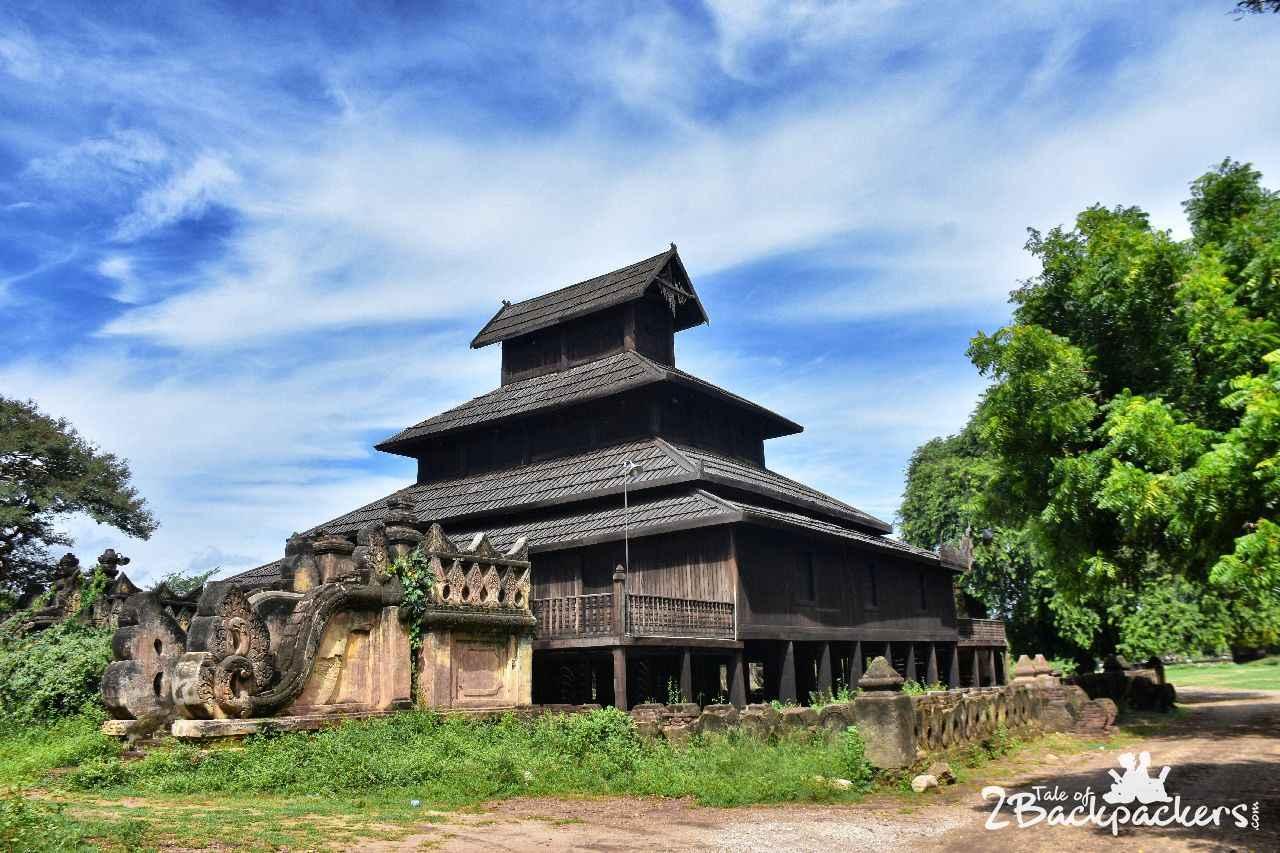 Nat Taung Kyaung Monastery Bagan Myanmar