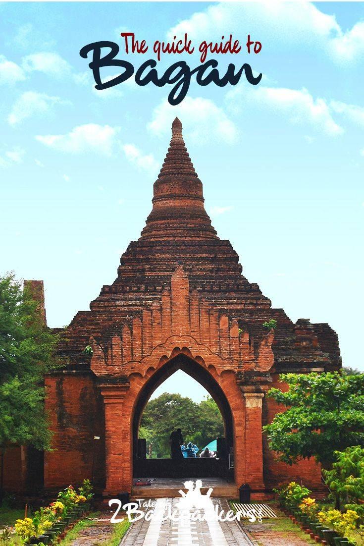 Quick guide to Bagan, Myanmar-pinterest