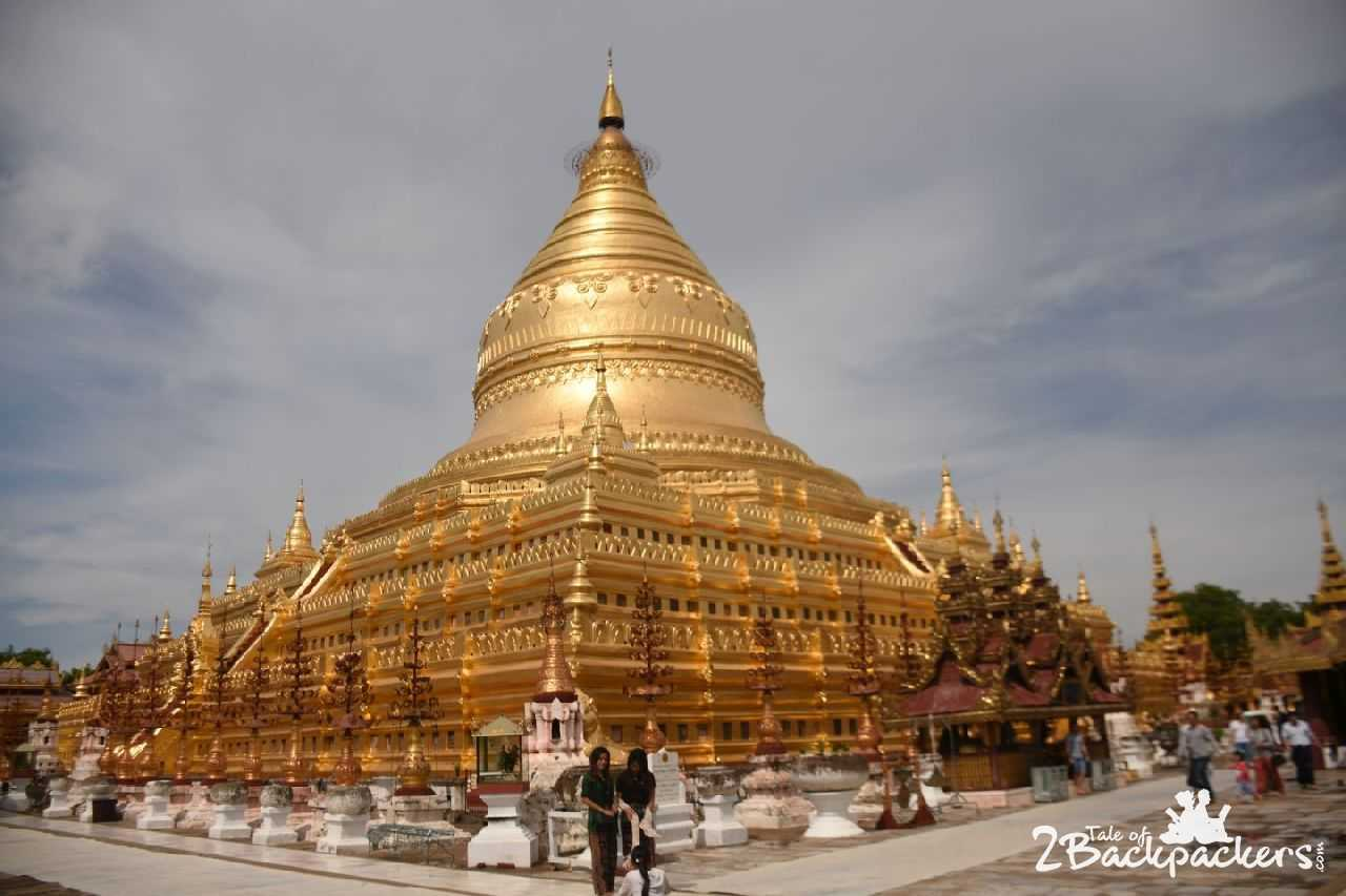 Shwezigon Pagoda Bagan Myanmar