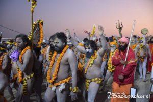 Naga Sadhu Shahi Snan, kumbh mela