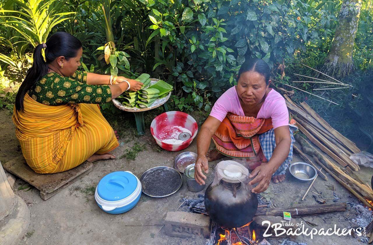 Life at Bodo village-Bodoland