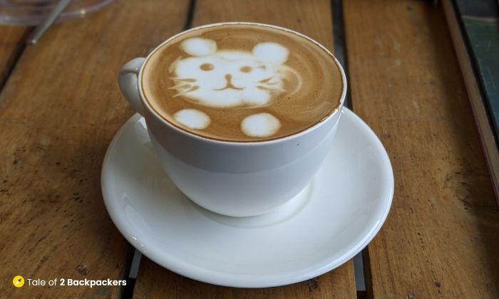 Coffee at Himalayan Coffee in Darjeeling