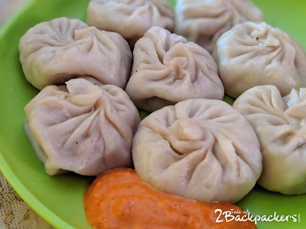 Darjeeling Food guide - momo