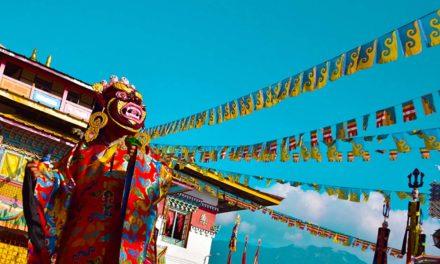 Kagyed Dance (Chham) – Masked Dance of Sikkim