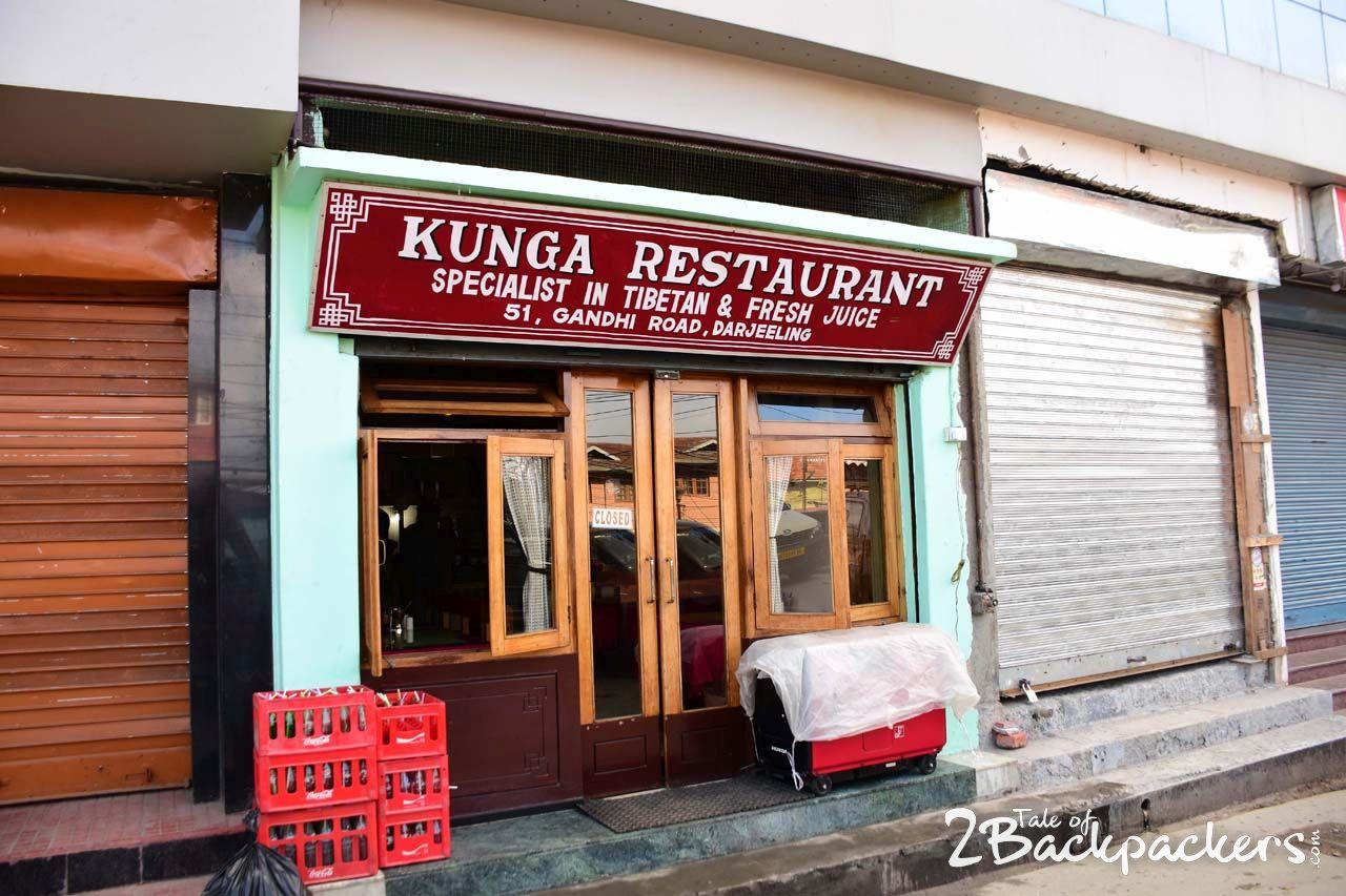 Kunga Restaurant, Darjeeling