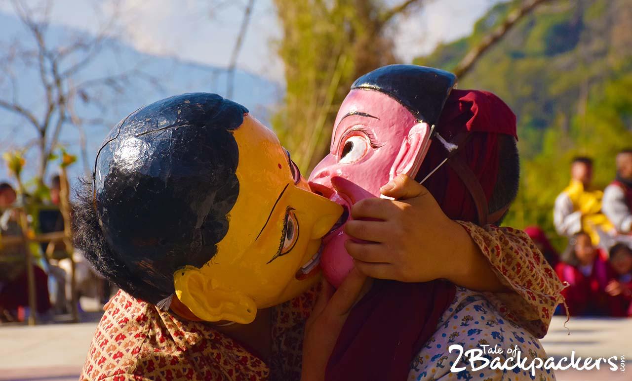 Kagyed dance, Sikkim