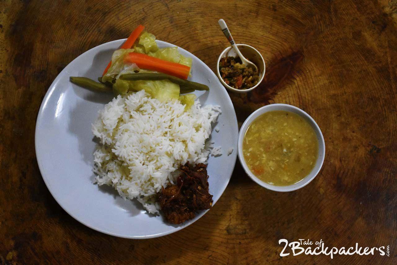 Naga cuisine at Revolver, Darjeeling