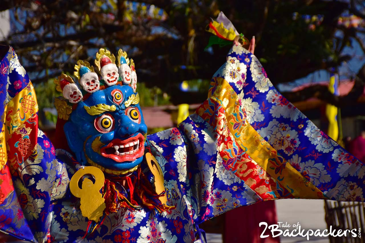 Mahakaal - masked dance of Sikkim - Kagyed dance