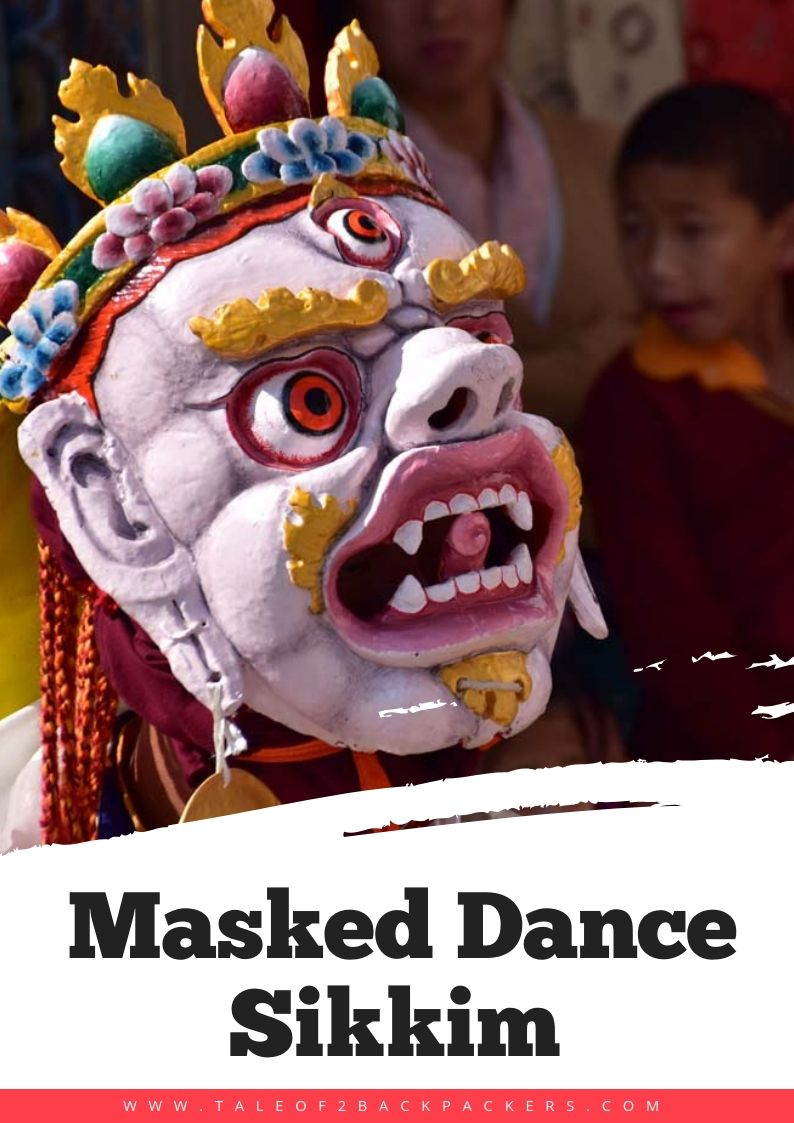 Kagyed Dance-Masked dance of Sikkim