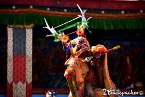 Sha-Tho deities - Kagyed Dance - Sikkim festivals
