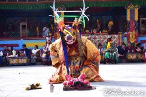 Kagyed Chham - masked dance of sikkim