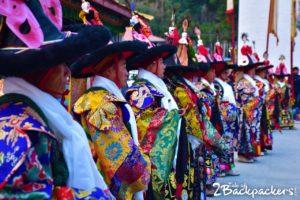 Black hat dance - Sikkim