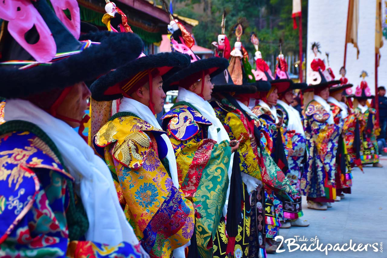 Black hat dance - Sikkim