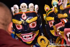 Masked dance of Sikkim