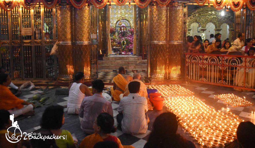 Enjoying Durga Puja at Durga Bari at Yangon