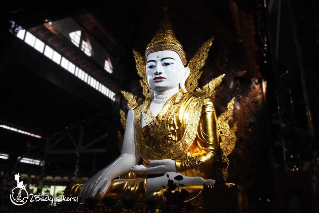 Nga Gyi Pagoda is one of the best things to do at Yangon