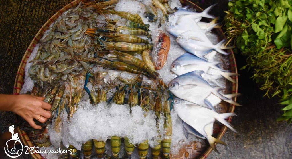 Fishes at the 17th Street Wet Market at Yangon Downtown _ Places to visit in Yangon