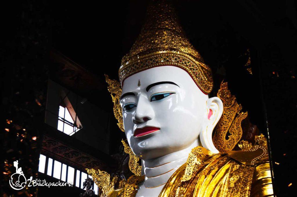 16 metres Buddha statue at Nga Gyi Pagoda