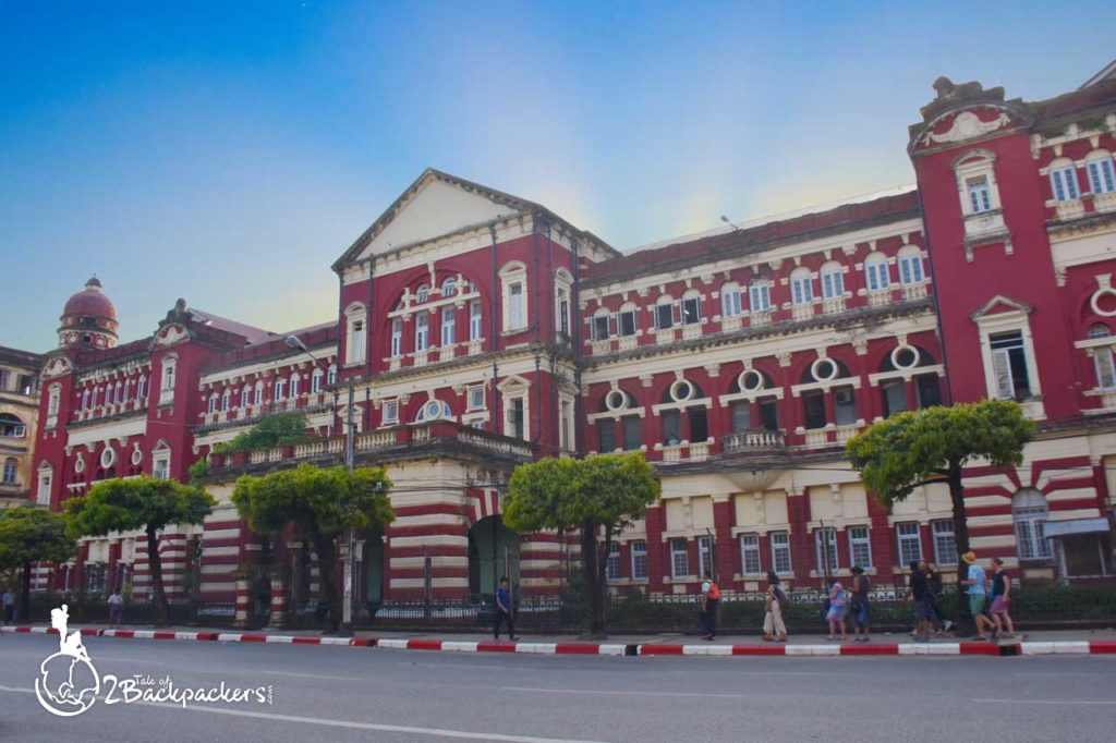 Places to visit at Yangon downtown