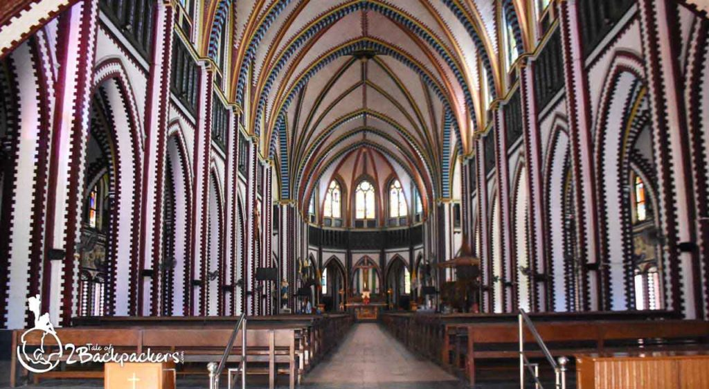 Interior of St. Mary's Cathedral at Yangon _ Yangon Travel Guide