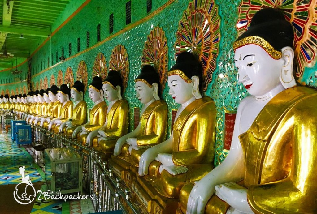30 Caves Pagoda at Sagaing is one of the best places to visit in Mandalay