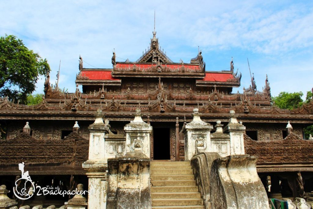 Bagaya Monastery at Inwa, Mandalay_Things to do in Mandalay