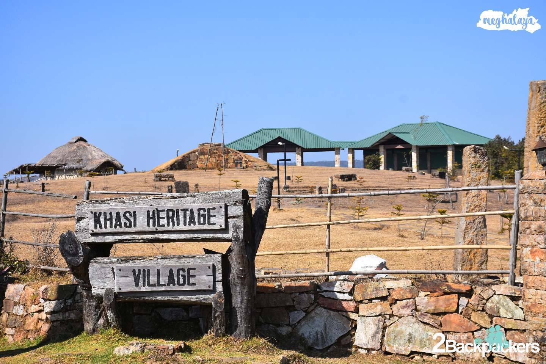 Khasi Hwritage Village at Mawphlang