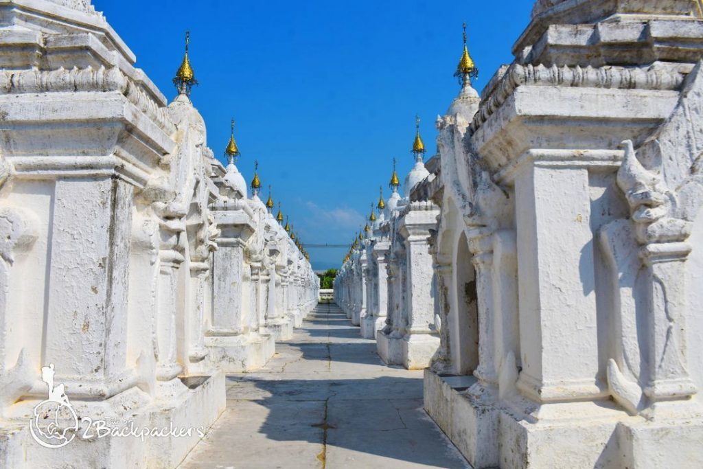 Kuthodaw Pagoda is one of the best attractions of Mandalay