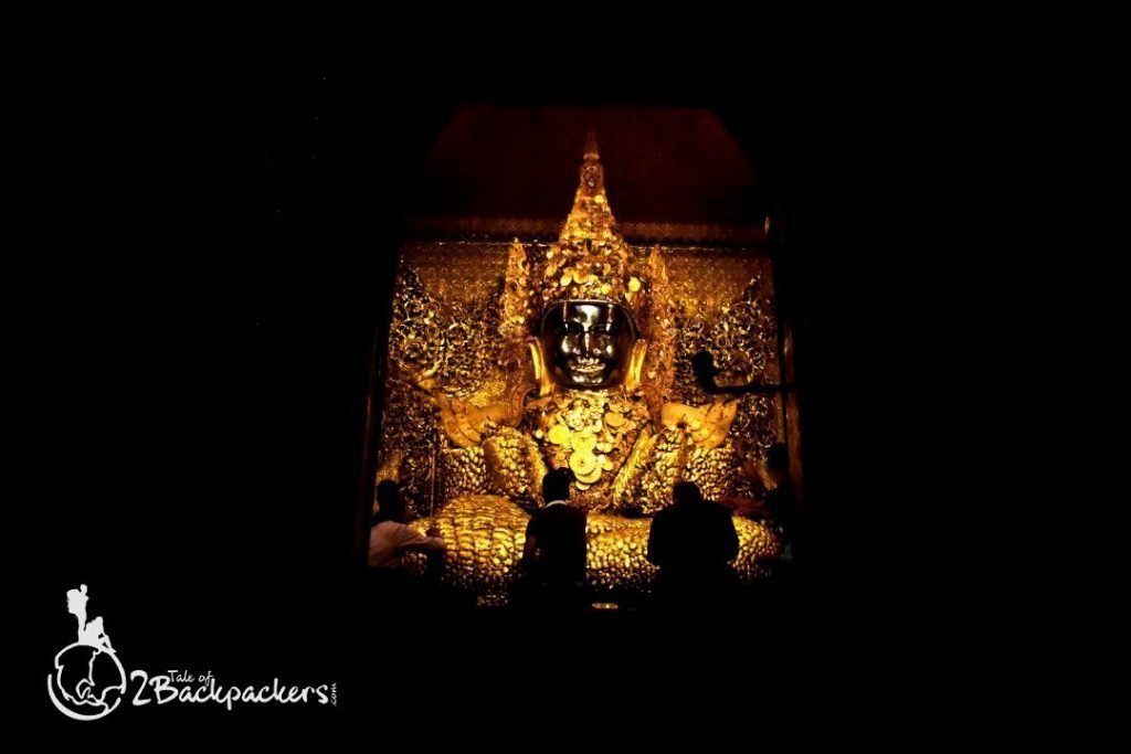 Buddha statue at Sandamuni Pagoda in Mandalay_Mandalay Travel Guide