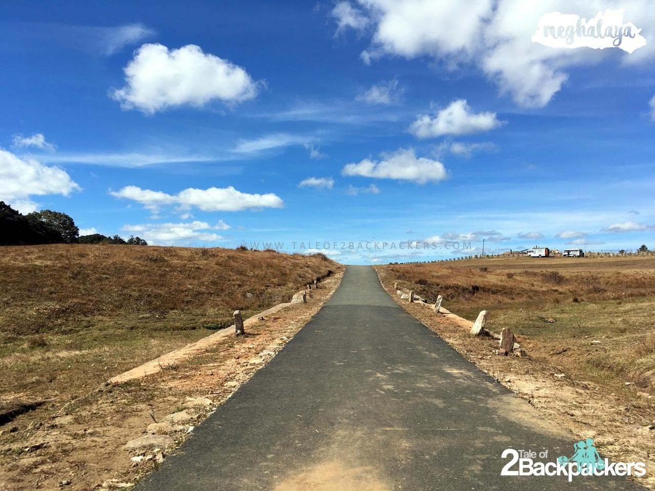 Meghalaya roads are in quite good condition except the interior ones. Perfect for a bike trip or car trip