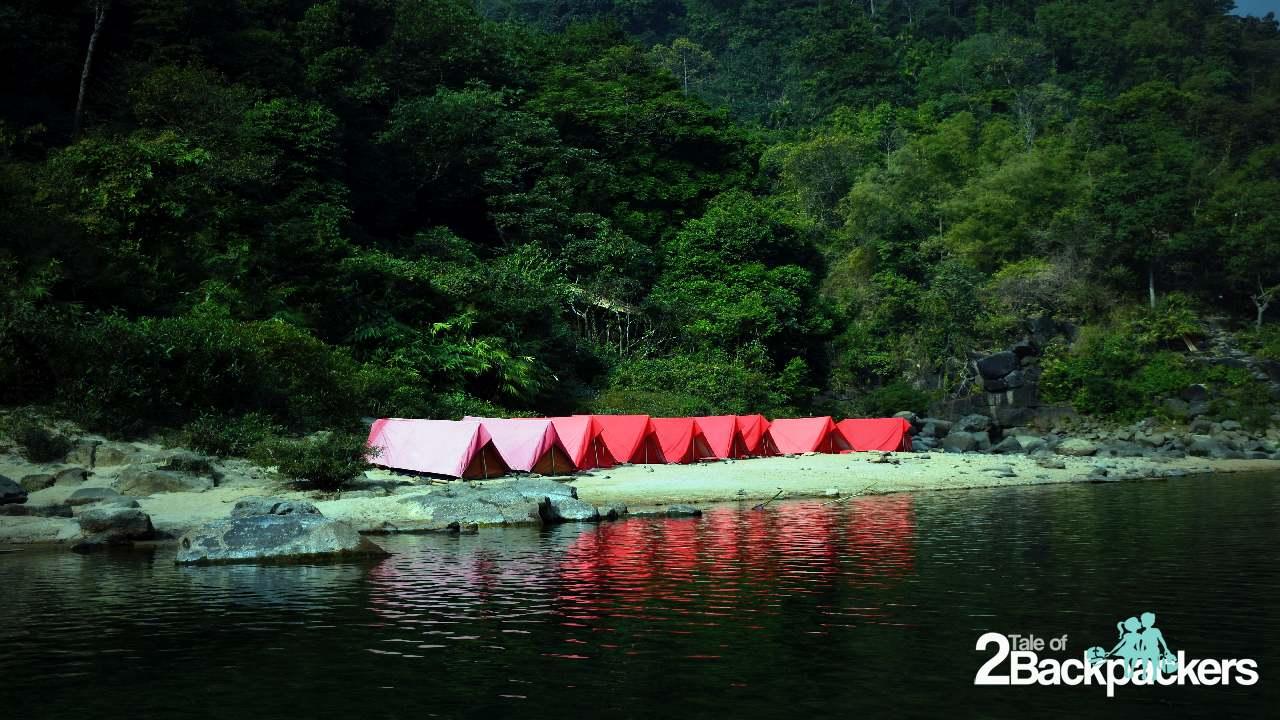 tents at Shnongpdeng