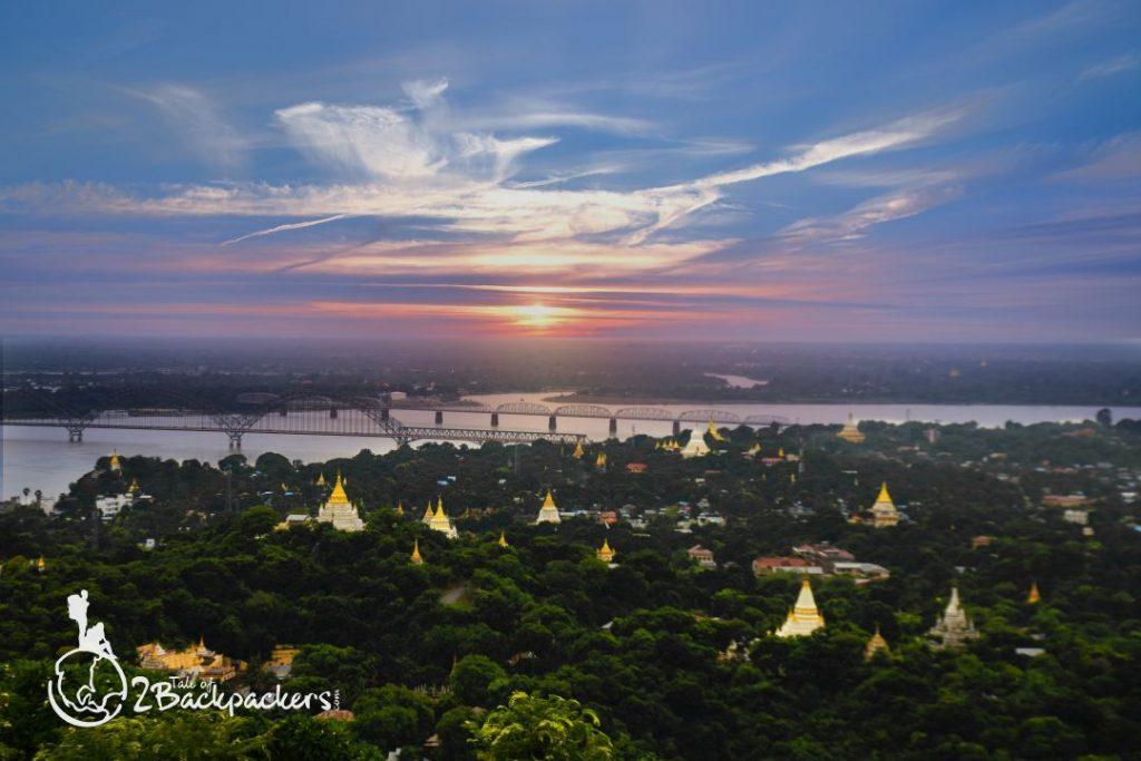 Sunset at Mandalay
