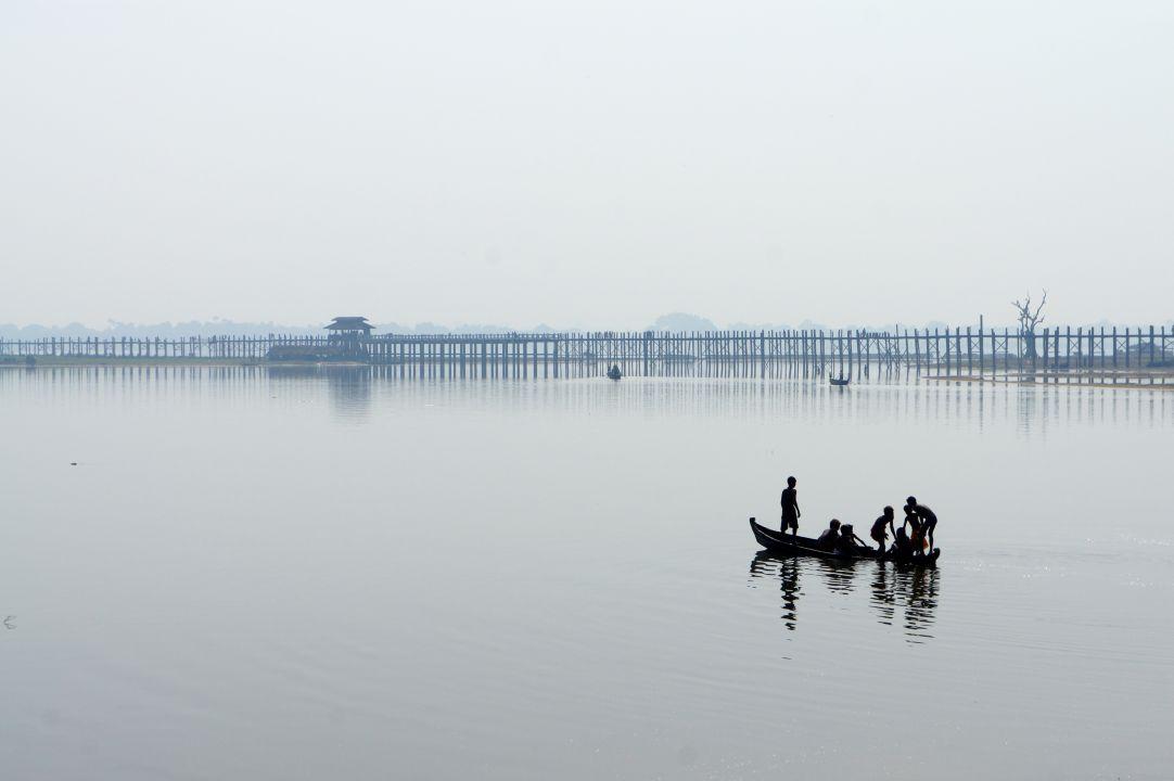 U-Bein Bridge at Amarapura, Mandalay Travel Guide