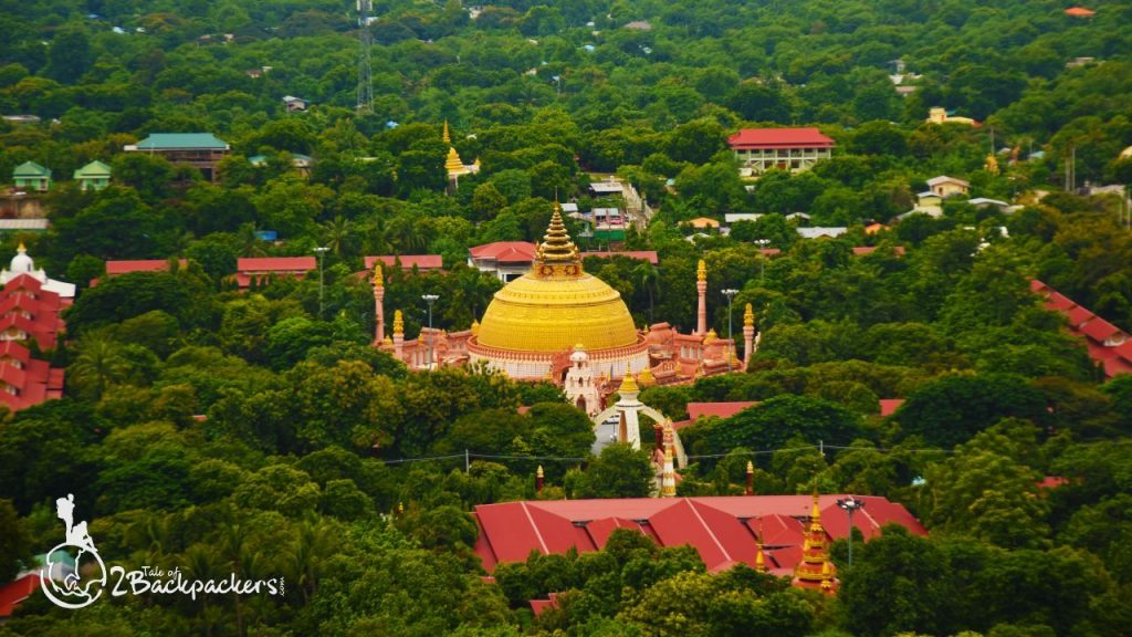 View from Soon U Ponya Shin Pagoda at Sagaing Hilltop_Things to do in Mandalay