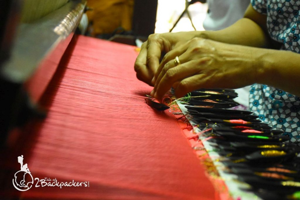 Weaving at Mandalay_Myanmar