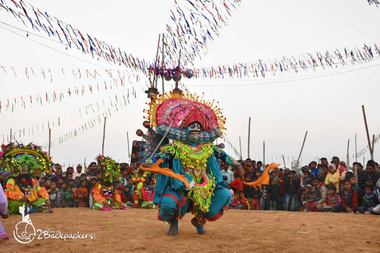 Chhau dance at Purulia - offbeat weekend getaway from Kolkata