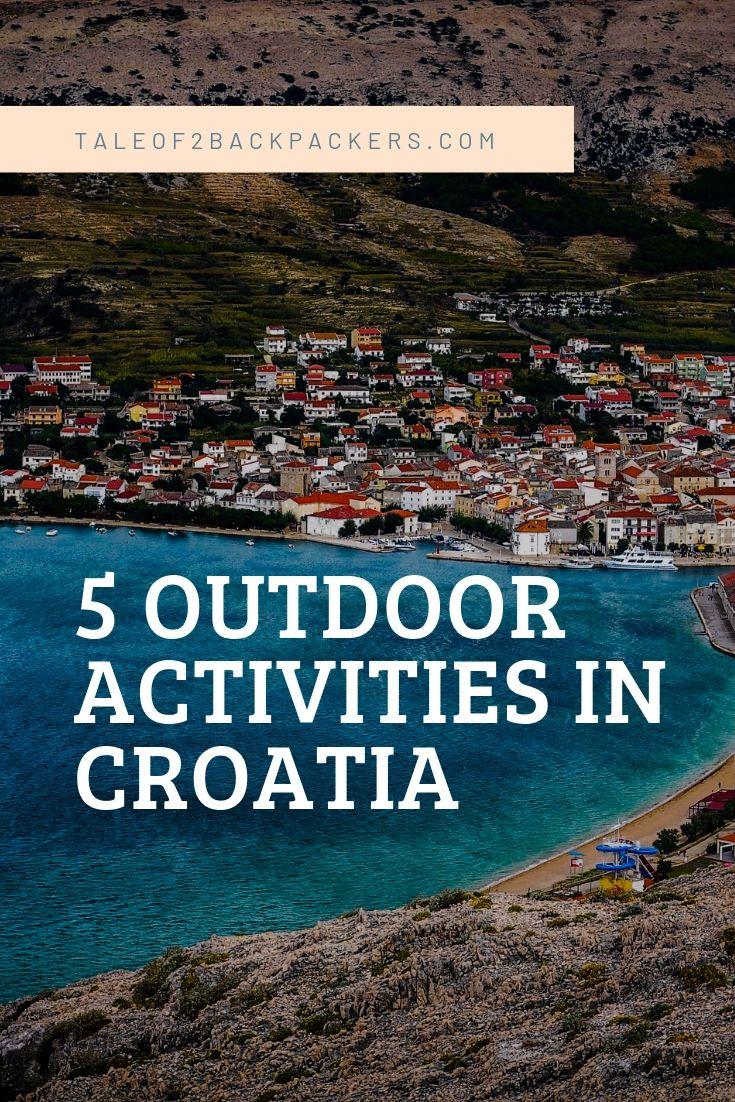 Outdoor activities in Croatia