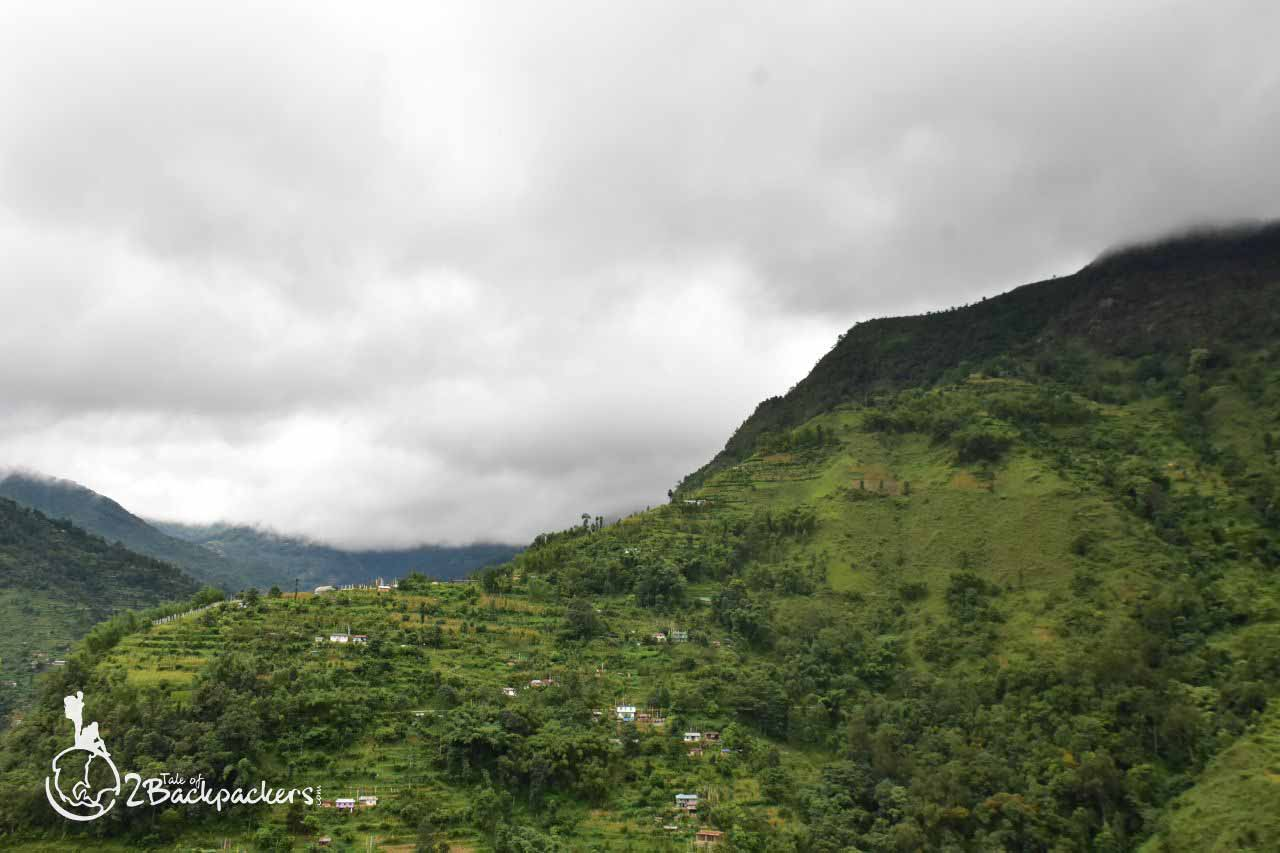The view of the hills and the clouds at Kiriburu -an offbeat weekend destination from Kolkata near Jharkhand-Odisha border