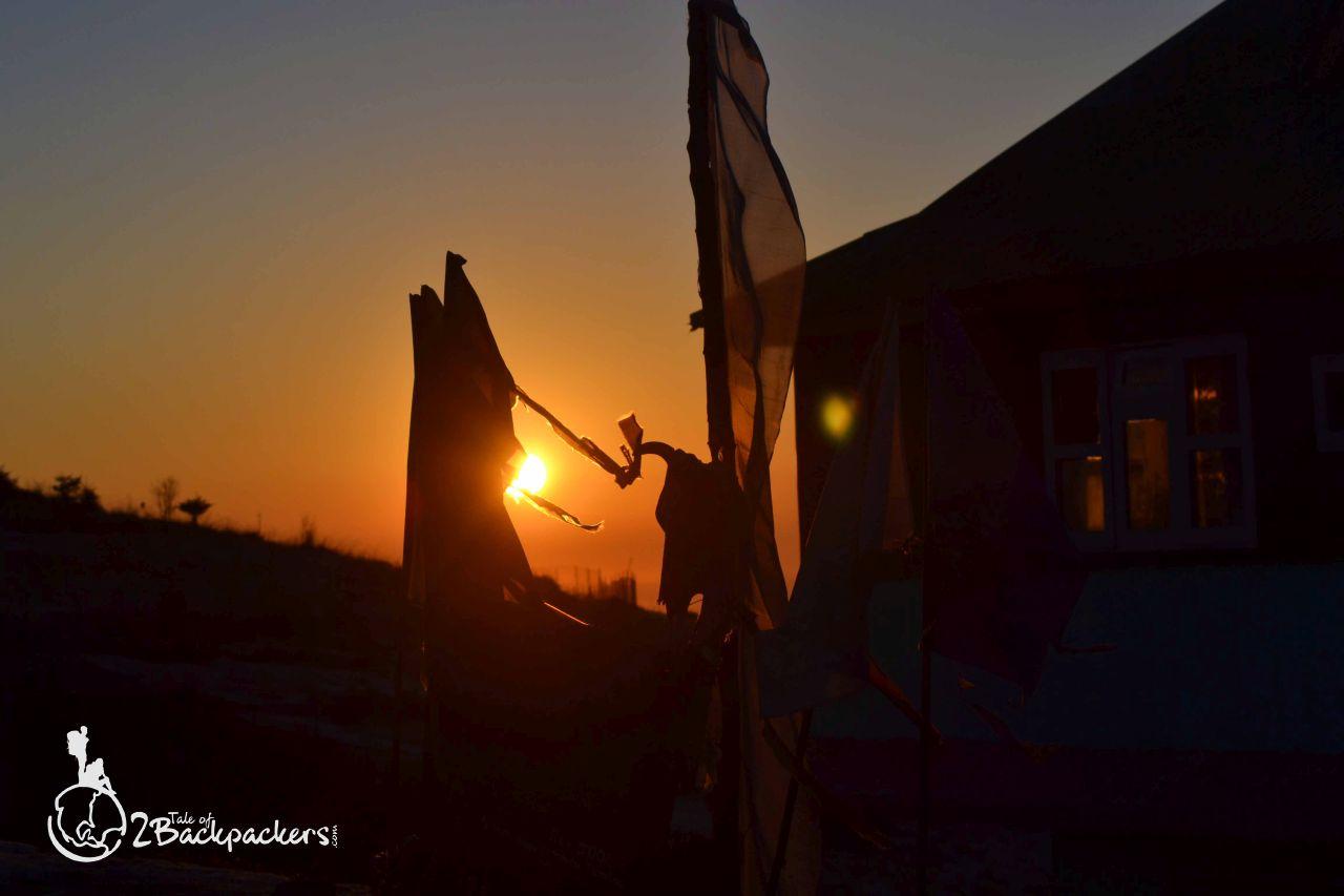Sunset - offbeat wekend getaways in Sikkim