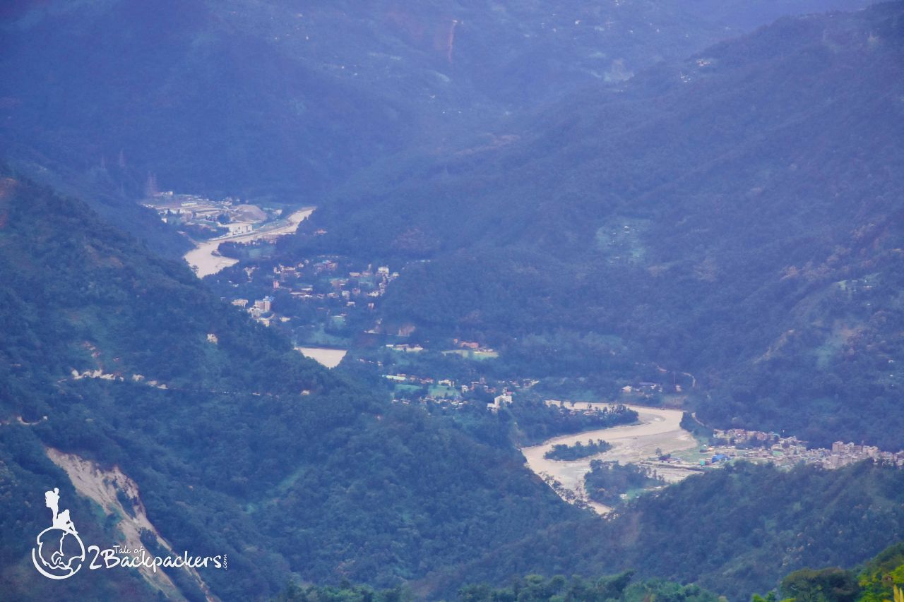 View of the valley - offbeat weekend destinations in Dooars