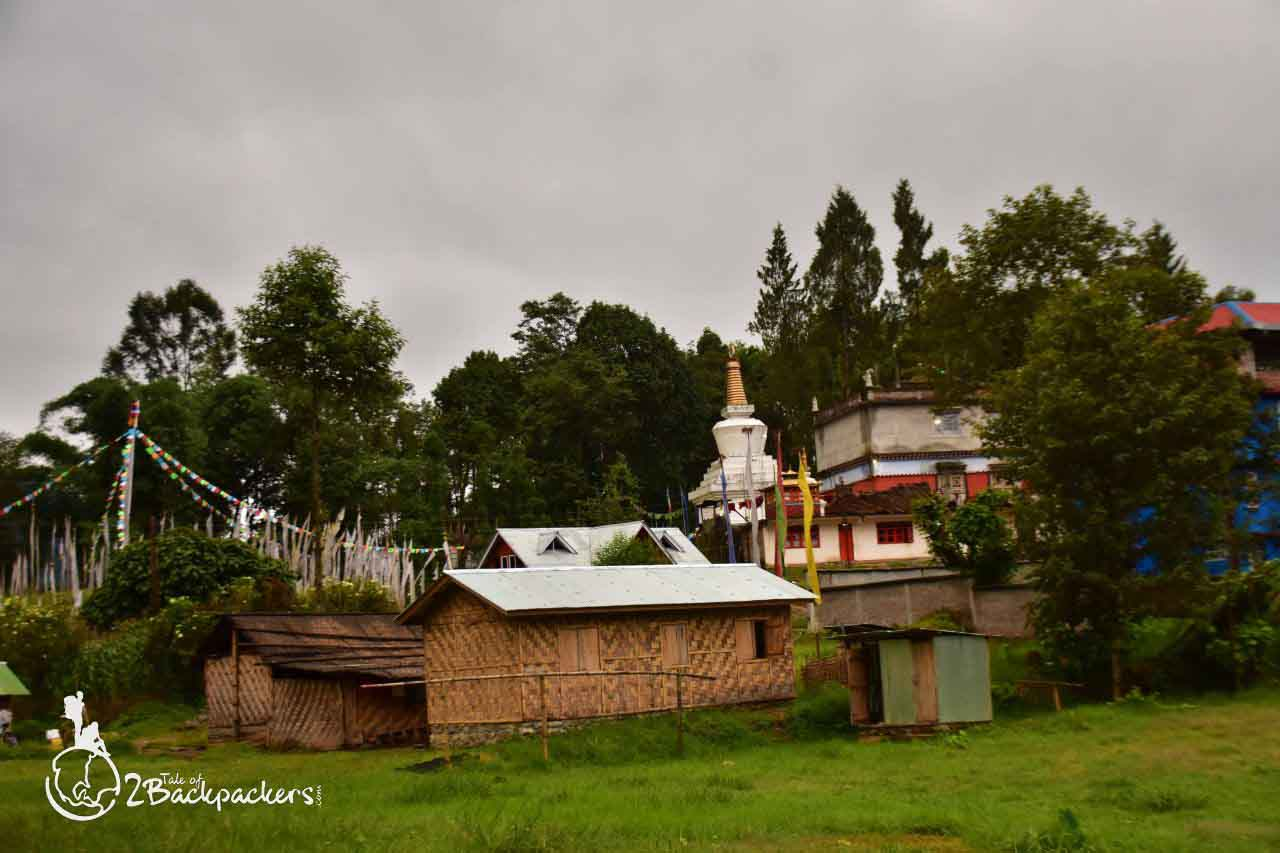 Stupa at Sribadam- an offbeat weekend destinations from Kolkata