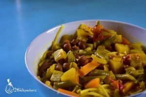 Thukpa - a Tibetan dish